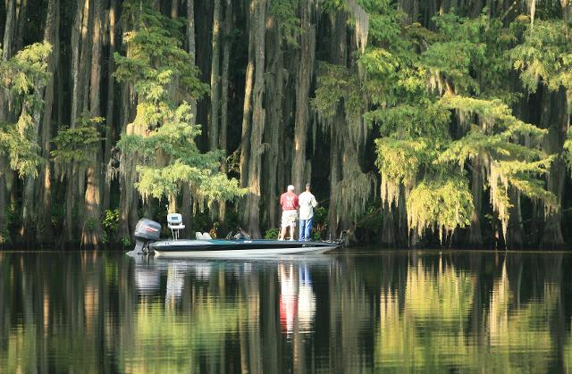 The us south is subtropical paradise minimum july dress for Lake waco fishing report